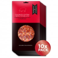 Sliced chorizo Salamanca 100gr. x10  5% OFF.