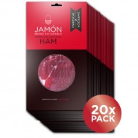 Iberico jamon fine slices 100gr. x20 10% OFF.