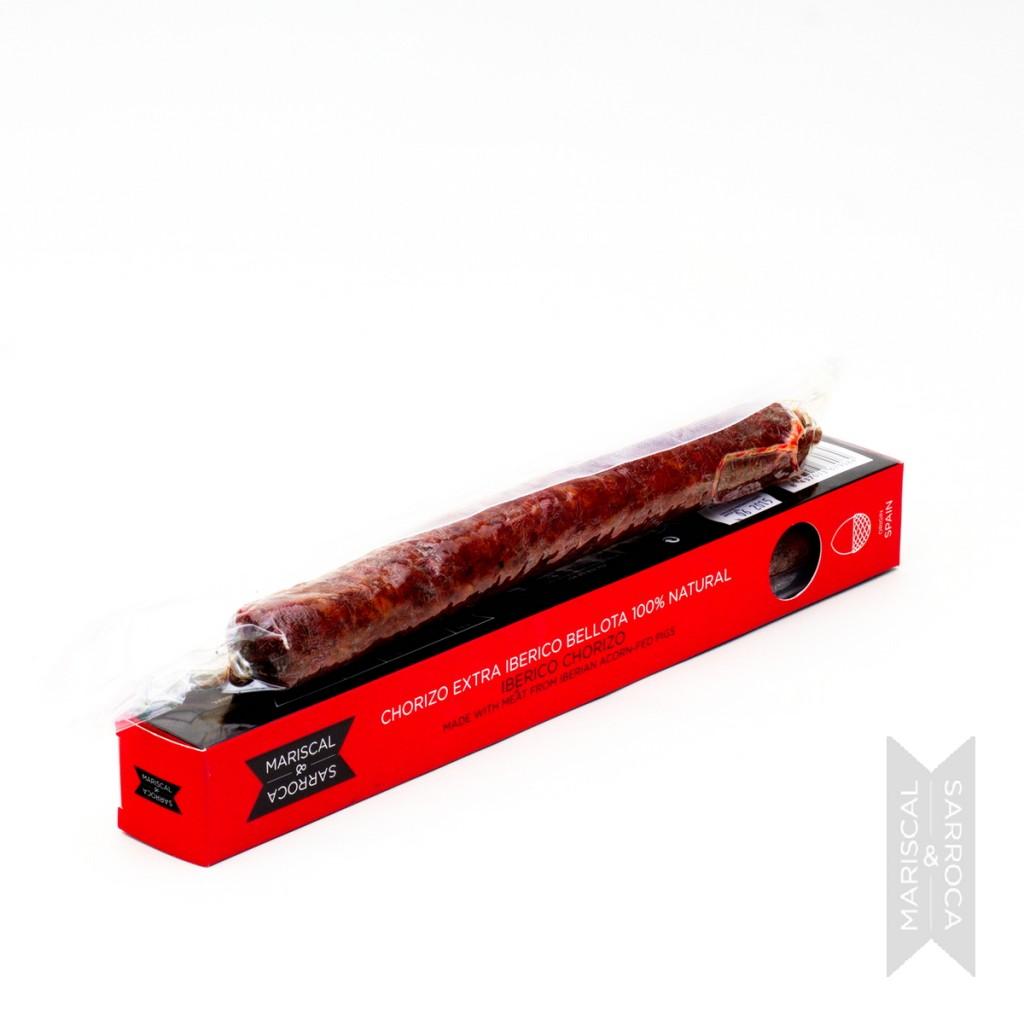 Iberico chorizo sausage from Spain