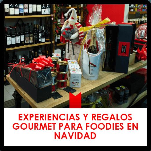 Experiencias y regalos gourmet para foodies en Navidad