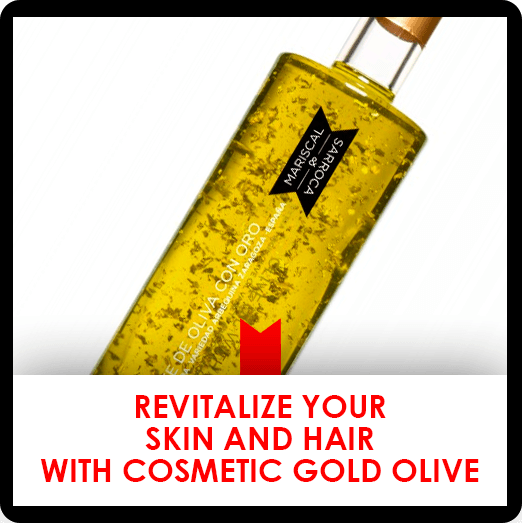 10 july: cosmetic gold olive