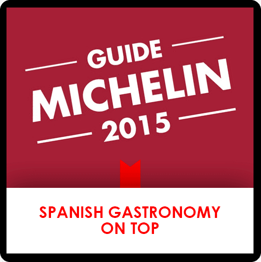 19 october: spanish gastronomy on Top. Guide Michelin