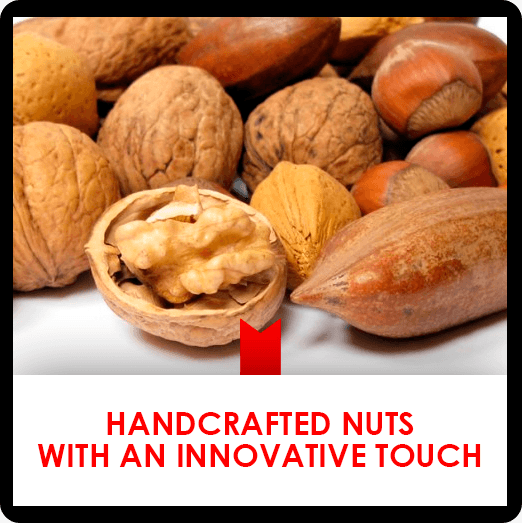 2 march: handcrafted nuts