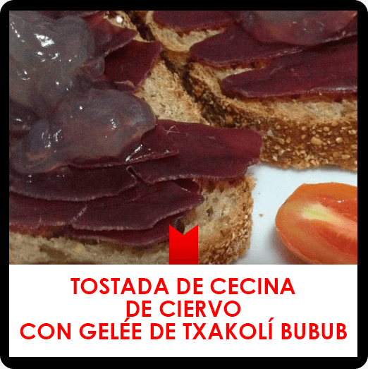 Recent posts - Cecina de ciervo receipt