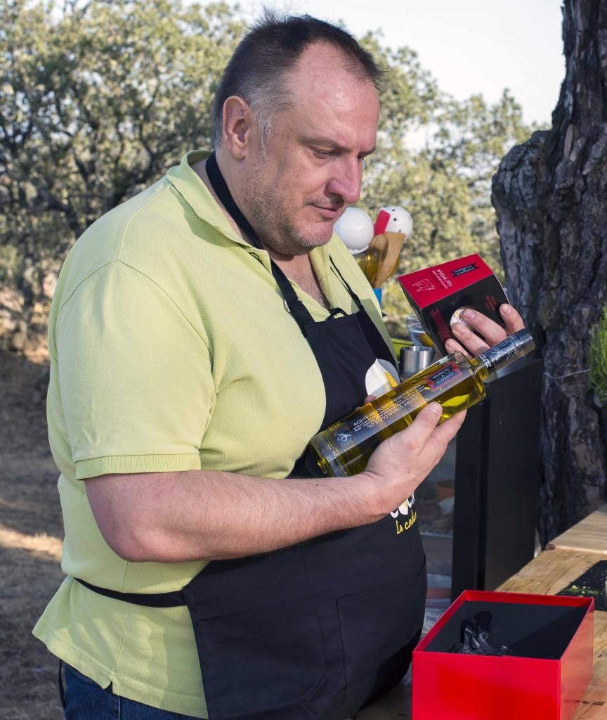 Fernando Albizu Fernando Albizu Manuela Velasco en canal cocina por Mariscal & Sarroca