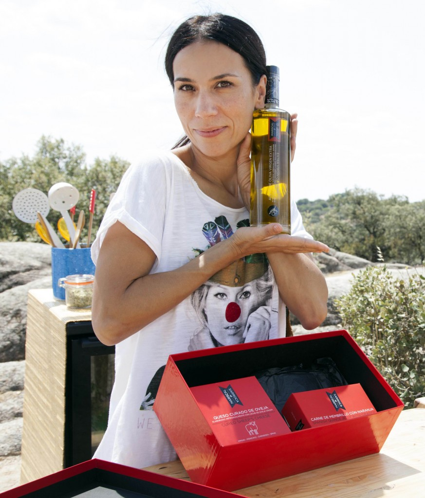 Itziar Miranda Fernando Albizu Fernando Albizu Manuela Velasco en canal cocina por Mariscal & Sarroca