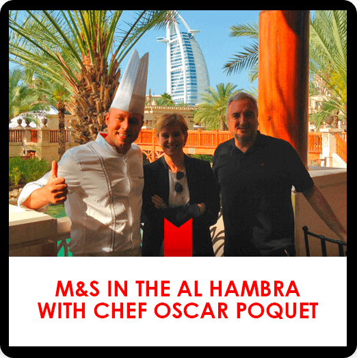 Al Hambra Dubai with Chef Oscar Poquet