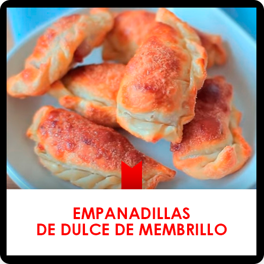 Receta de empanadillas de membrillo