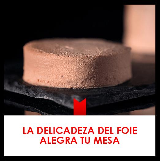 La delicadeza del foie gras Mariscal & Sarroca