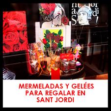 Mermeladas y Gelées para regalar en Sant Jordi
