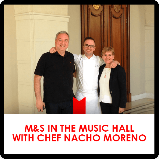 Music Hall Restaurant with Chef Nacho Moreno