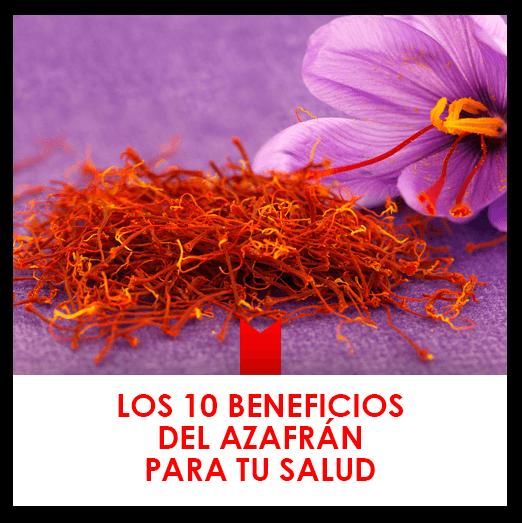 10 beneficios del azafrán para tu salud