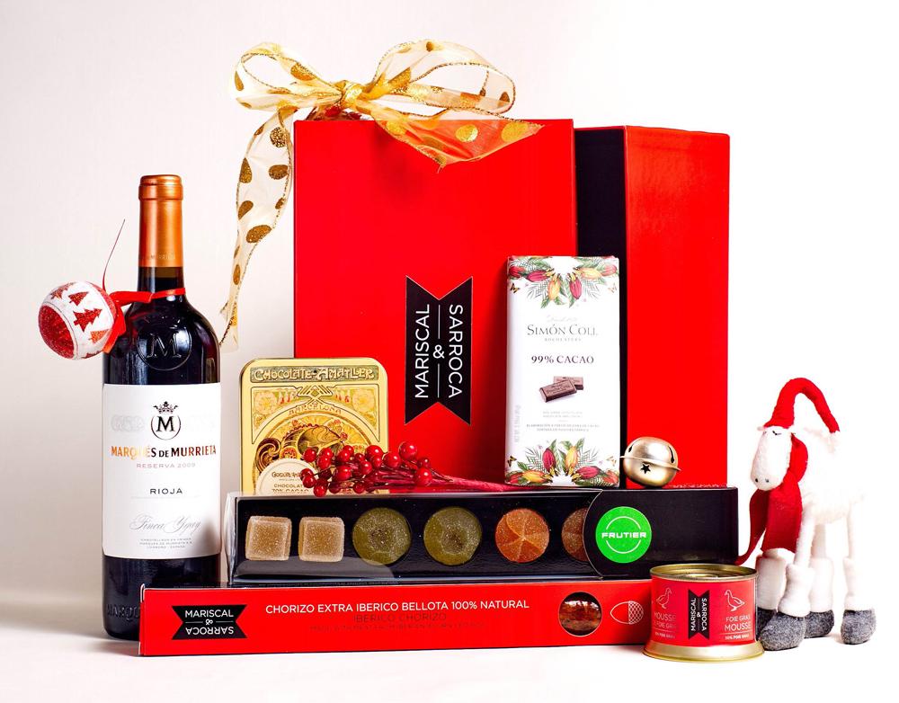 Lote gourmet Navidad (Mariscal & Sarroca) 50 euros