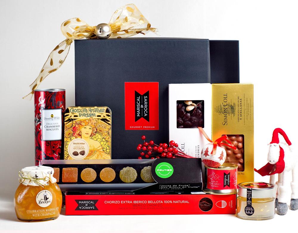 Lote gourmet Navidad (Mariscal & Sarroca) 60 euros