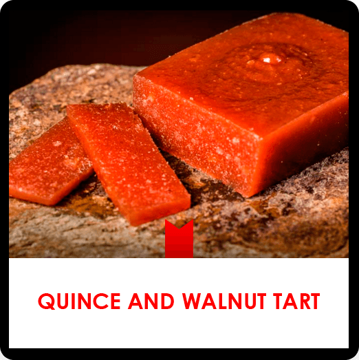 Quince and walnut tart recipe