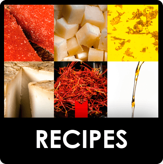 Recipes with gourmet products for foodies