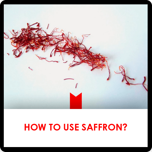 How to use saffron