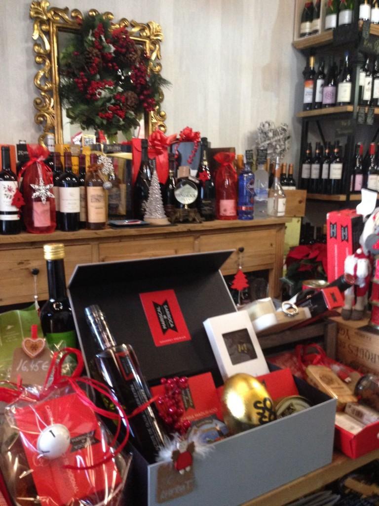 Tienda gourmet Mariscal&Sarroca por Navidad en Altafulla (Tarragona)