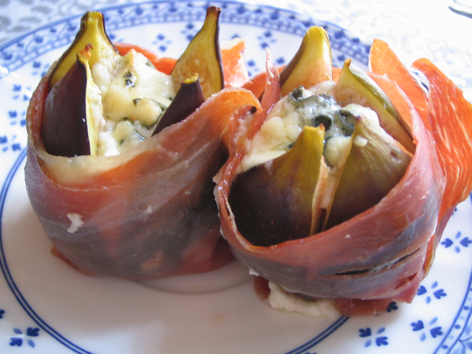 Higos con jamón ibérico de bellota Mariscal&Sarroca
