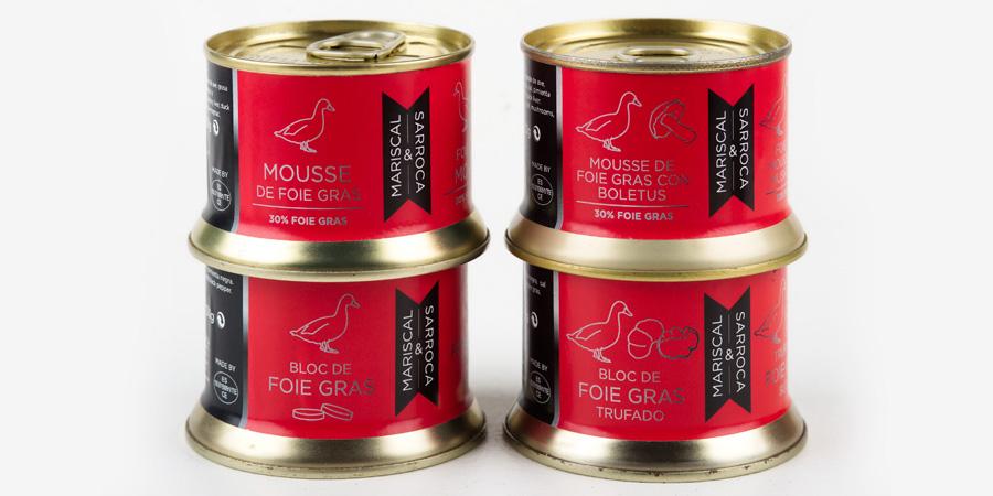 Foie gras from Mariscal & Sarroca