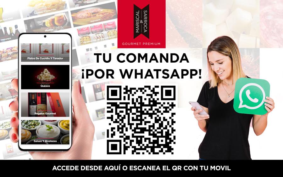 Compra Gourmet por WhatsApp